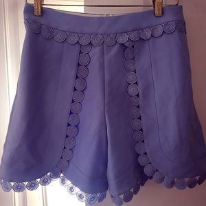 New Ted Baker London Womens Size 1 Skirt Blue